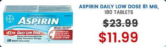 Aspirin - Brampton & Mississauga